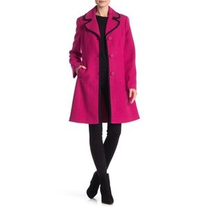 Kate Spade New York Front Button Wool Coat